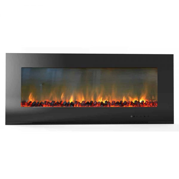 Cambridge Metropolitan Wall Mount Electronic Fireplace