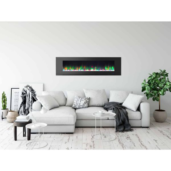 Cambridge Wall Mount Electric Fireplace Heater