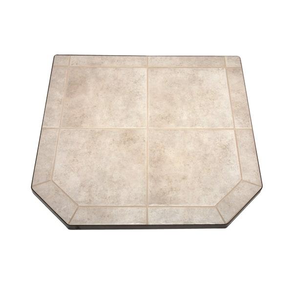 Carmel Tile Single Cut Corner Stove Board