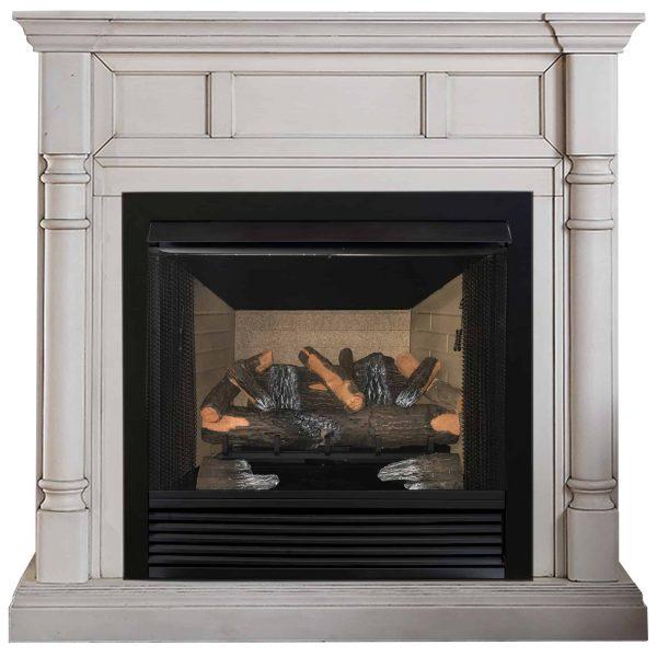 "Cedar Ridge Hearth 24"" Decorative Realistic Fireplace Ceramic Wood Log Set - Model CRHED24RT-D 3"