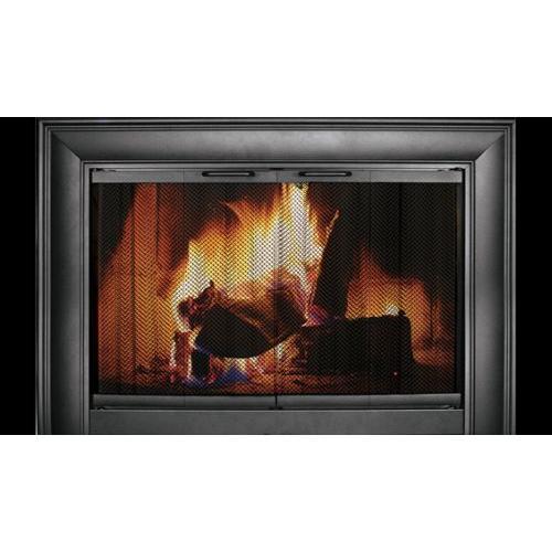 Celebrity Anodized Aluminum Fireplace Enclosure