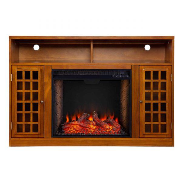 Chaneault Smart Media Fireplace w/ Storage 11