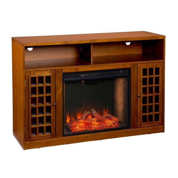 Chaneault Smart Media Fireplace w/ Storage 3