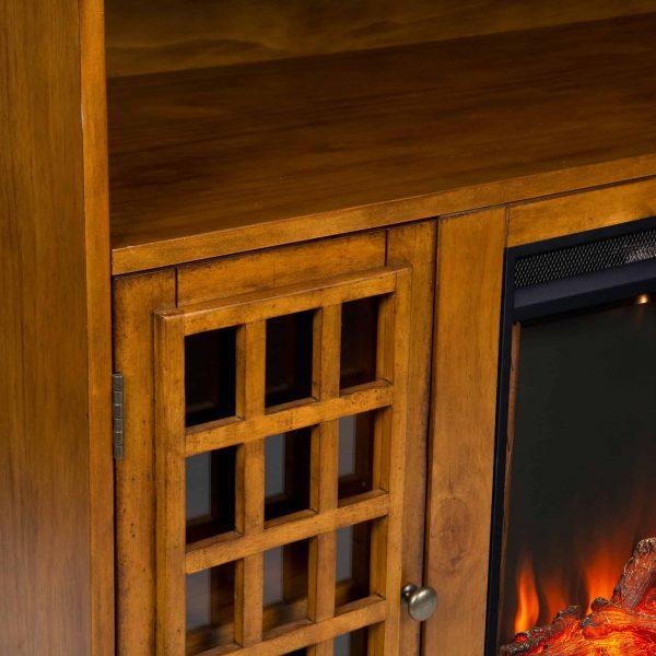 Chaneault Smart Media Fireplace w/ Storage 5