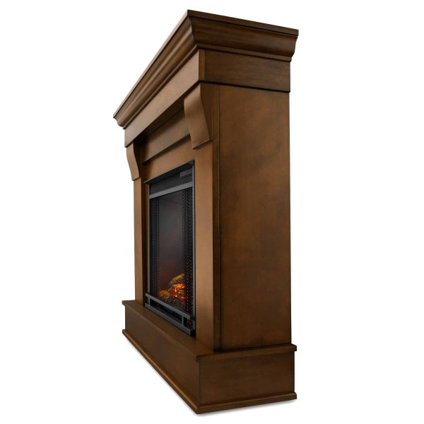 Chateau Electric Fireplace in Espresso by Real Flame 2