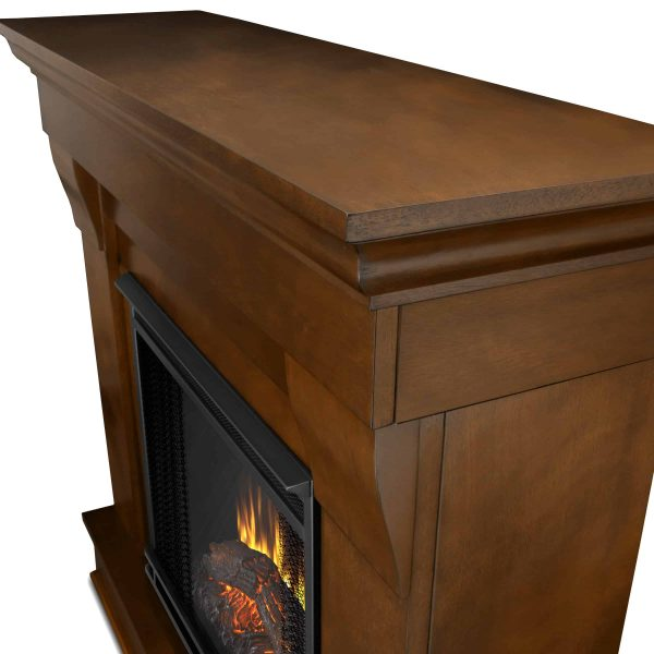 Chateau Electric Fireplace in Espresso by Real Flame 3