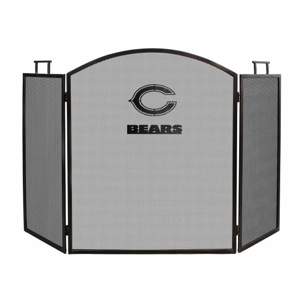 Chicago Bears Imperial Fireplace Screen - Brown