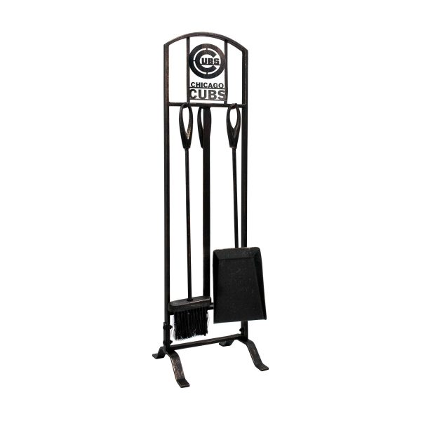 Chicago Cubs Imperial Fireplace Tool Set - Brown