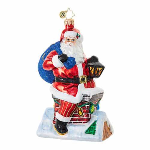 Chimney Climber Santa
