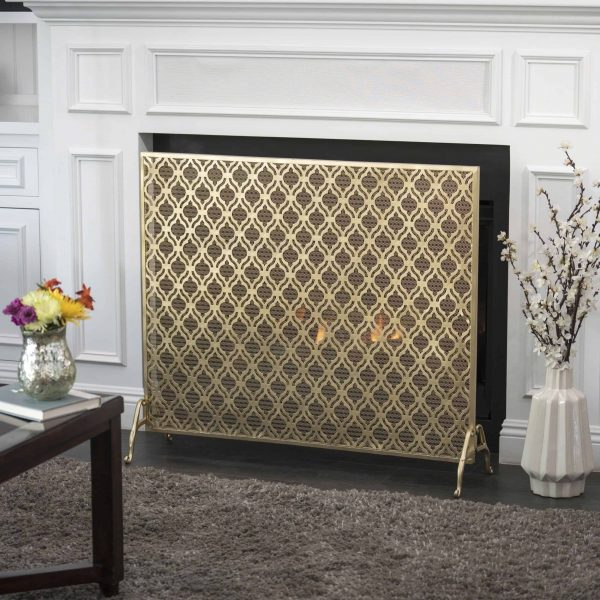 Christopher Knight Home Ellias Single Panel Fireplace Screen by 1