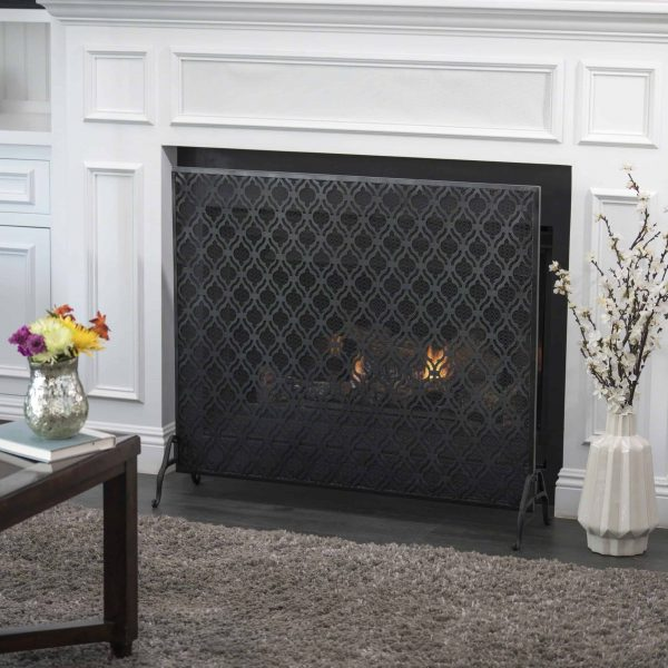 Christopher Knight Home Ellias Single Panel Fireplace Screen by 2