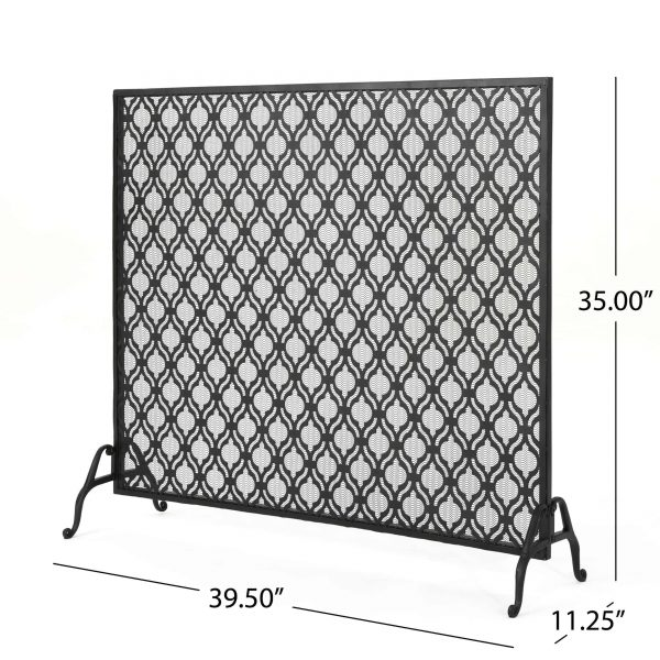 Christopher Knight Home Ellias Single Panel Fireplace Screen by 3