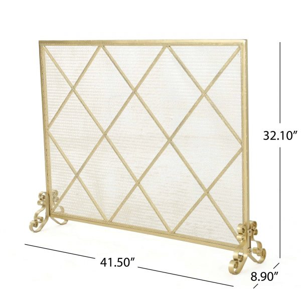 Christopher Knight Home Howell Single Panel Fireplace Screen by 1
