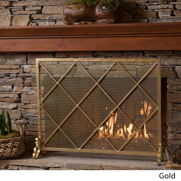 Christopher Knight Home Howell Single Panel Fireplace Screen by 3