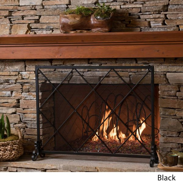 Christopher Knight Home Howell Single Panel Fireplace Screen by 4