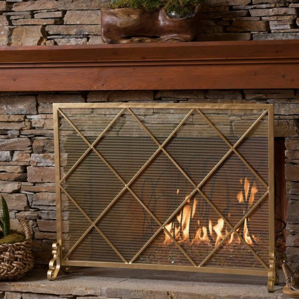 Christopher Knight Home Howell Single Panel Fireplace Screen by