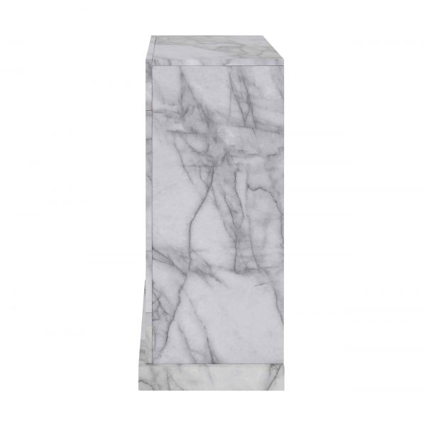Claredale Faux Marble Color Changing Fireplace by Chateau Lyon 12
