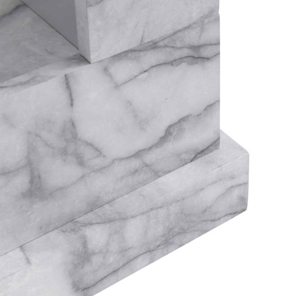 Claredale Faux Marble Color Changing Fireplace by Chateau Lyon 8