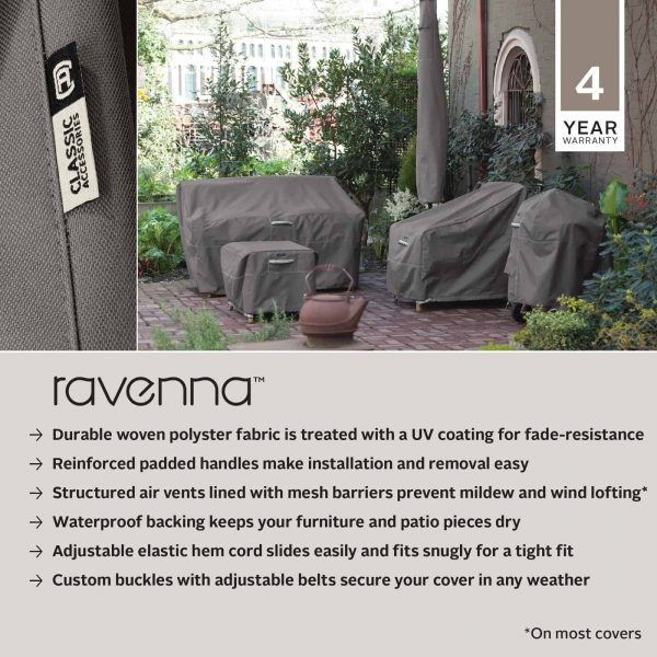 Classic Accessories Ravenna® Jumbo Log Carrier - Premium Outdoor Cover with Water Resistant Fabric (55-185-015101-EC) 3