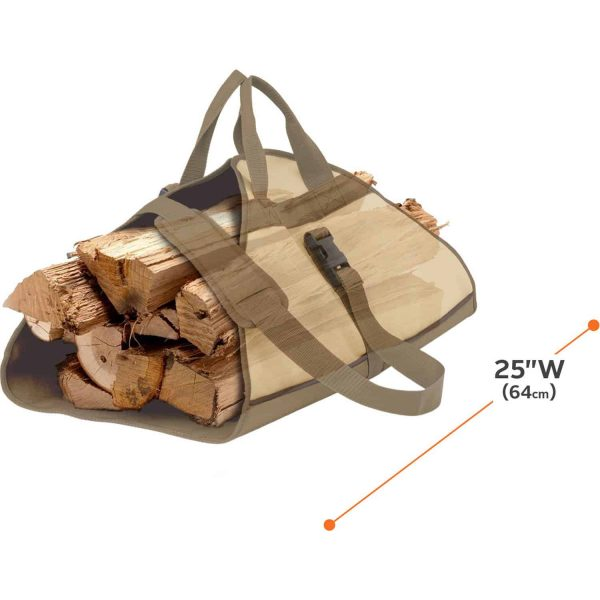 Classic Accessories Veranda? Log Carrier - Water Resistant Outdoor Carrier (55-056-011501-00) 1