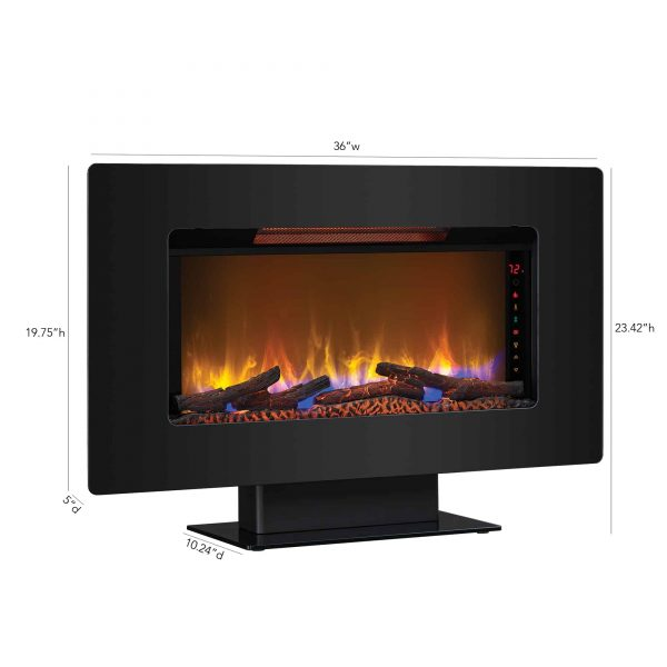 Classic Flame Elysium Electric Wall Mount Fireplace 3
