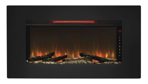 Classic Flame Elysium Electric Wall Mount Fireplace 4