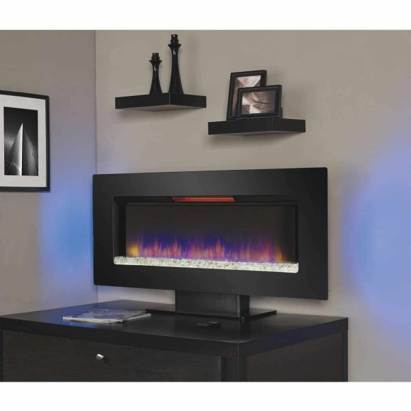 Classic Flame Felicity Infrared Wall Hanging Electric Fireplace 1