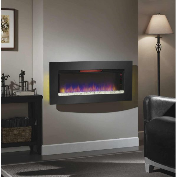 Classic Flame Felicity Infrared Wall Hanging Electric Fireplace 4