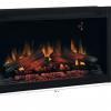 """ClassicFlame 36EB110-GRT 36"""" Traditional Built-in Electric Fireplace Insert, 120 volt 5"""