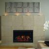"""ClassicFlame 36EB110-GRT 36"""" Traditional Built-in Electric Fireplace Insert, 120 volt 7"""