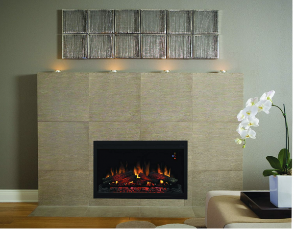 """ClassicFlame 36EB110-GRT 36"""" Traditional Built-in Electric Fireplace Insert, 120 volt 3"""