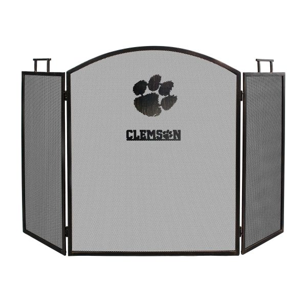 Clemson Tigers Imperial Fireplace Screen - Brown