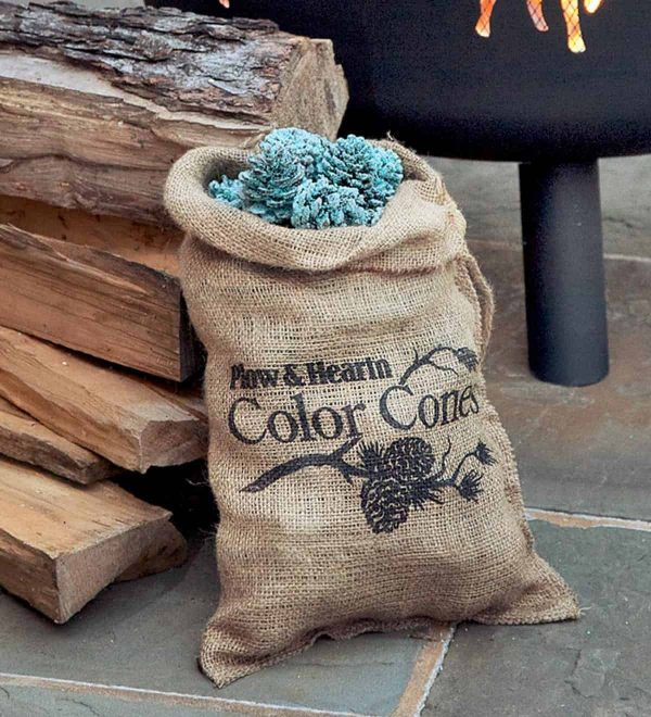 Color-Changing Fireplace Color Cones, 2 lb. Bag 1