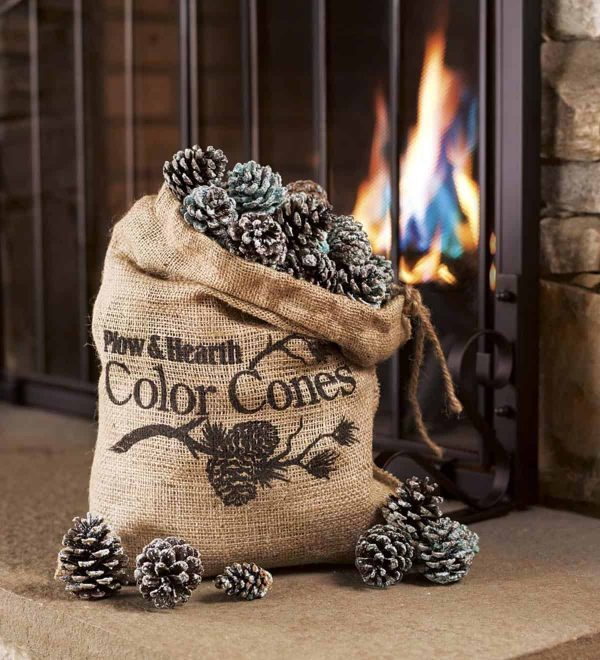 Color-Changing Fireplace Color Cones, 2 lb. Bag 3