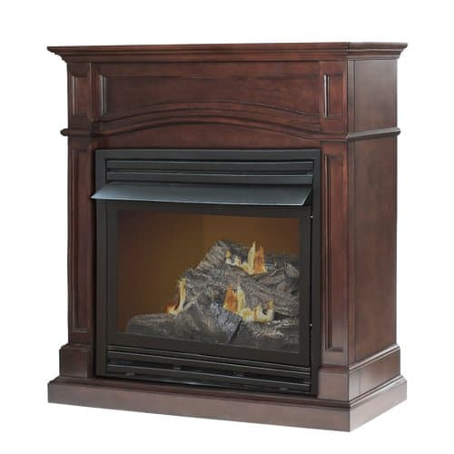 Comfort Glow Brentmore Full Size Wall Mounted Dual Fuel Fireplace