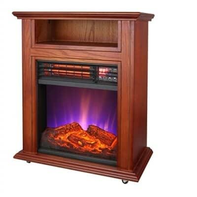 Comfort Glow QF4561R Electric Quartz Fireplace 1