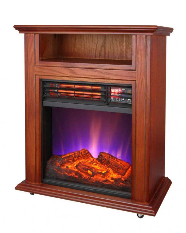 Comfort Glow QF4561R Electric Quartz Fireplace