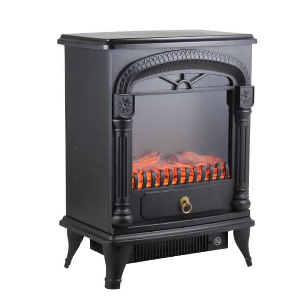 Comfort Zone CZFP4 Electric Fireplace Stove Heater