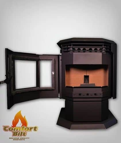 ComfortBilt HP21 Pellet Stove w/ Remote and Thermostat 1
