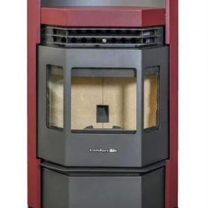 ComfortBilt HP22-N Pellet Stove Burgundy