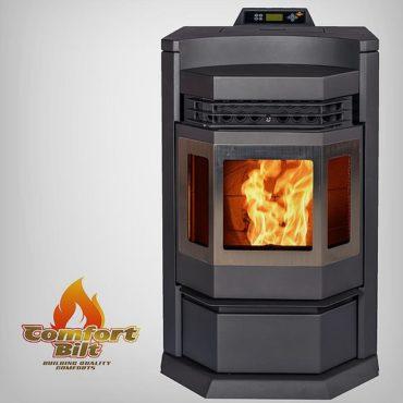 ComfortBilt HP22-N SS Pellet Stove Black