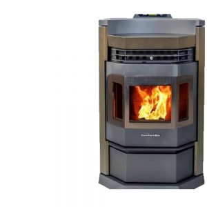 ComfortBilt HP22N-SS Pellet Stove in Brown