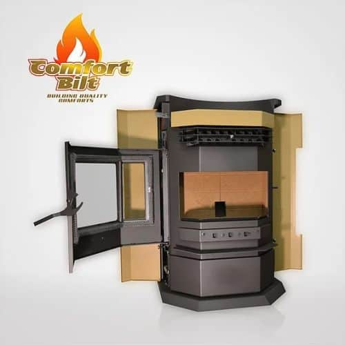 ComfortBilt HP22N-SS Pellet Stove with Remote and Trim - Apricot 1