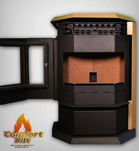 ComfortBilt HP22SS Pellet Stove w/Remote and Trim - Apricot 1