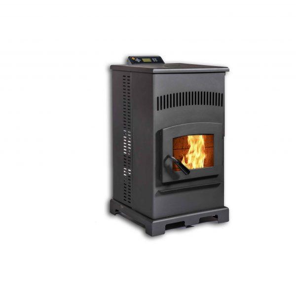 ComfortBilt HP55 Pellet Stove in Carbon Black 1
