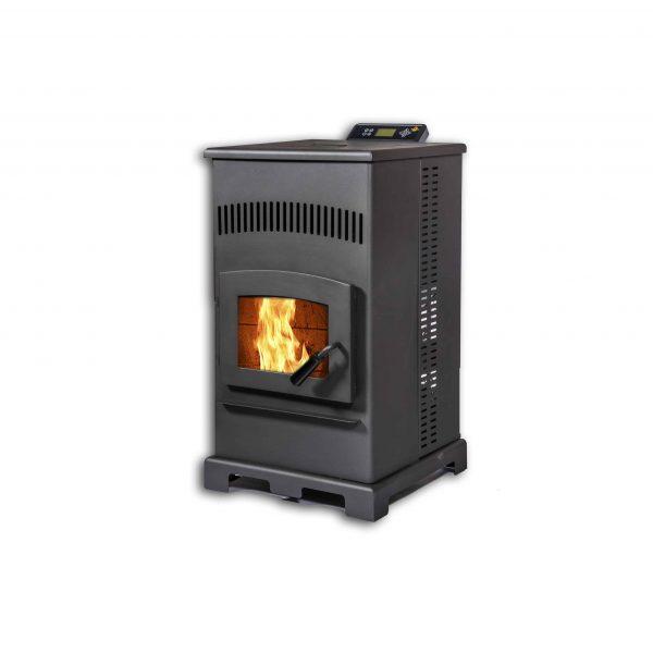 ComfortBilt HP55 Pellet Stove in Carbon Black 2