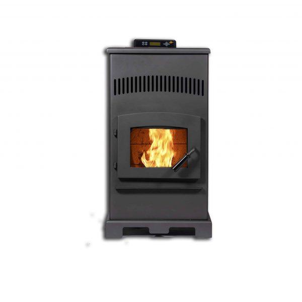 ComfortBilt HP55 Pellet Stove in Carbon Black
