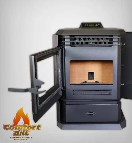 ComfortBilt HP61 Pellet Stove Charcoal 1