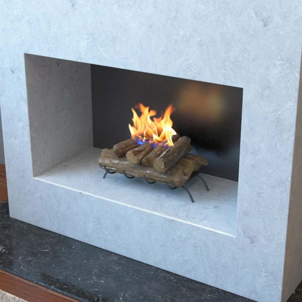 Convert to Ethanol Log Fireplace Burner Insert 2