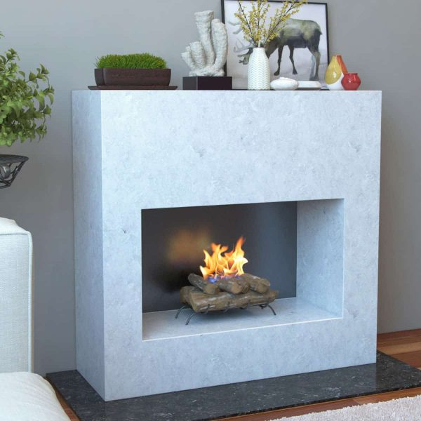 Convert to Ethanol Log Fireplace Burner Insert 3